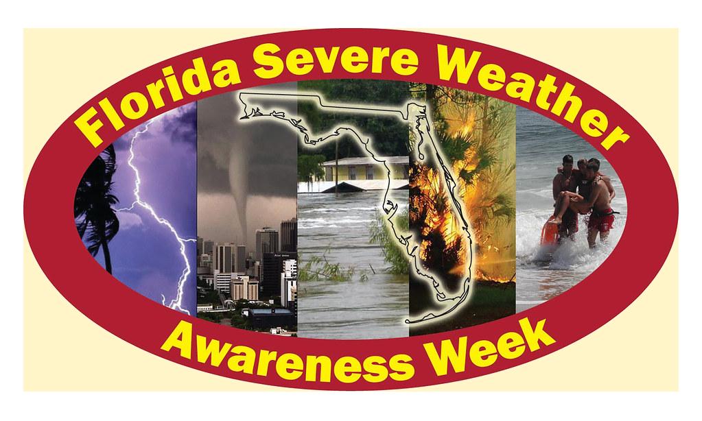florida severe weather awareness week logo