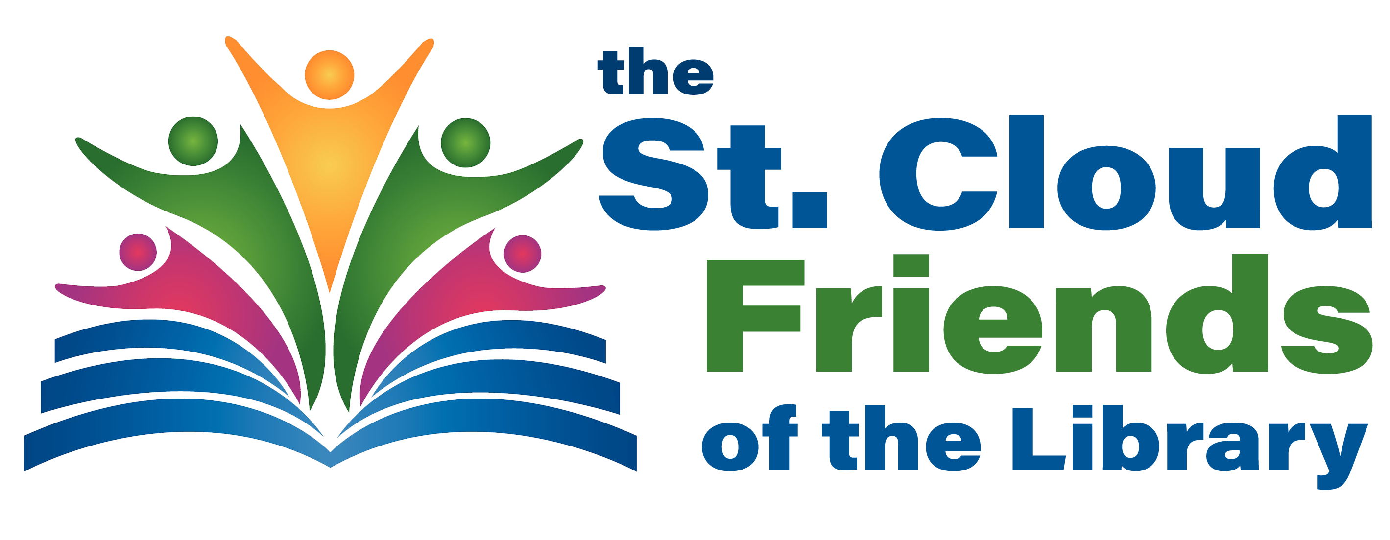 St. Cloud Friends of the Library logo