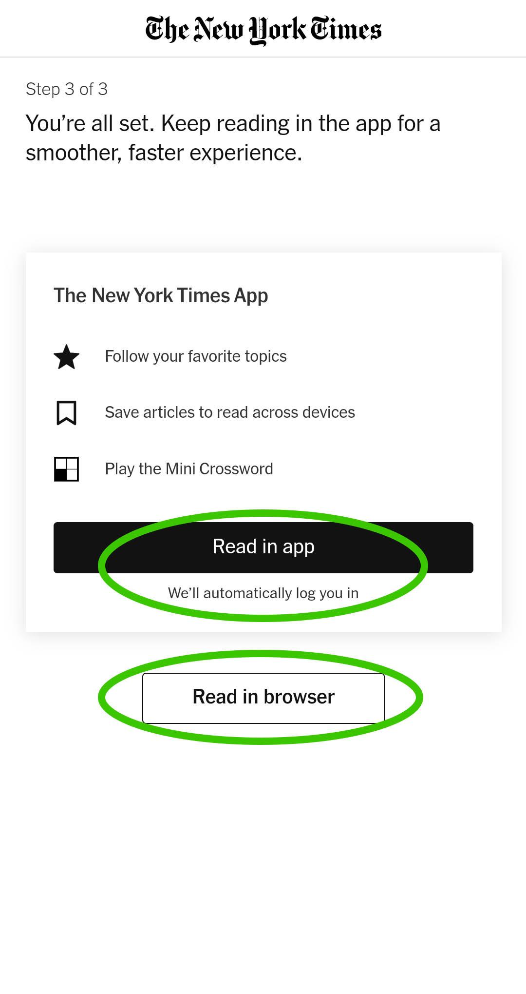 NYTimes Choose